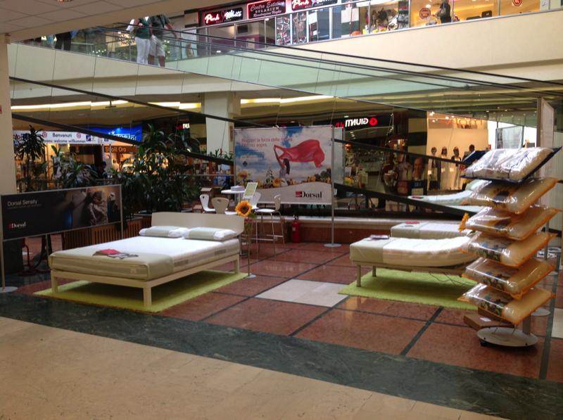 Promozione Dorsal nel Centro Commerciale L'Aquilone di Genova  Dorsal