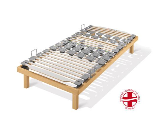 Xpoint 300 na. rete letto a doghe in legno piana singola xpoint 300