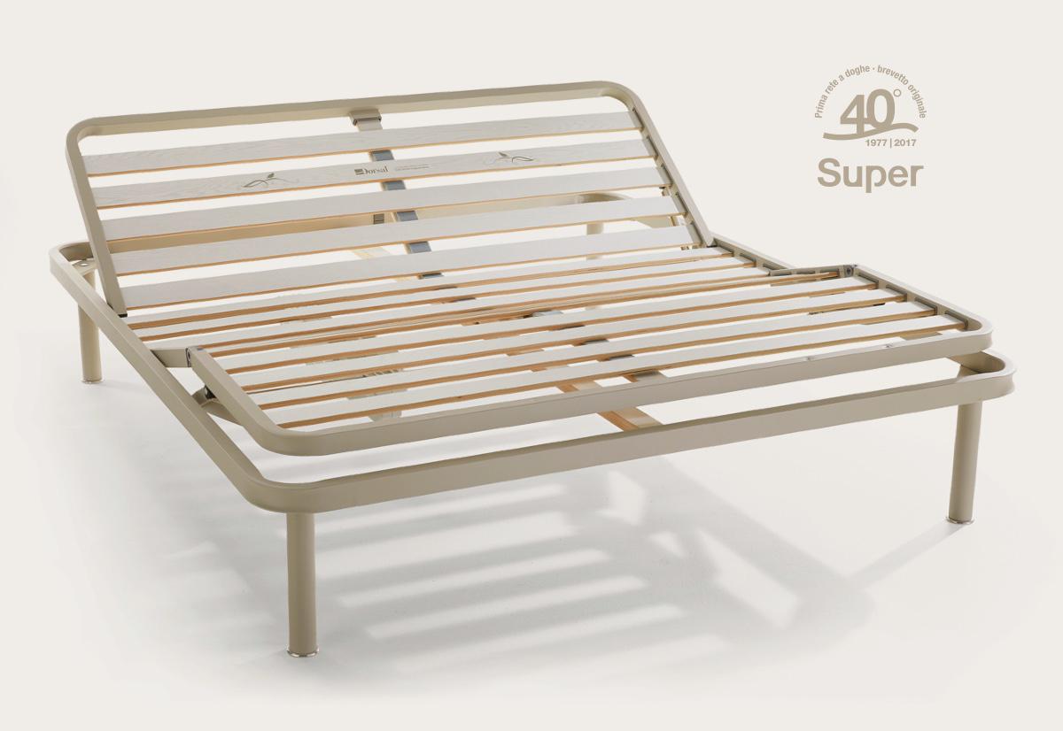 Reti da letto top rete da letto ergonomica with reti da - Reti letto su misura ...