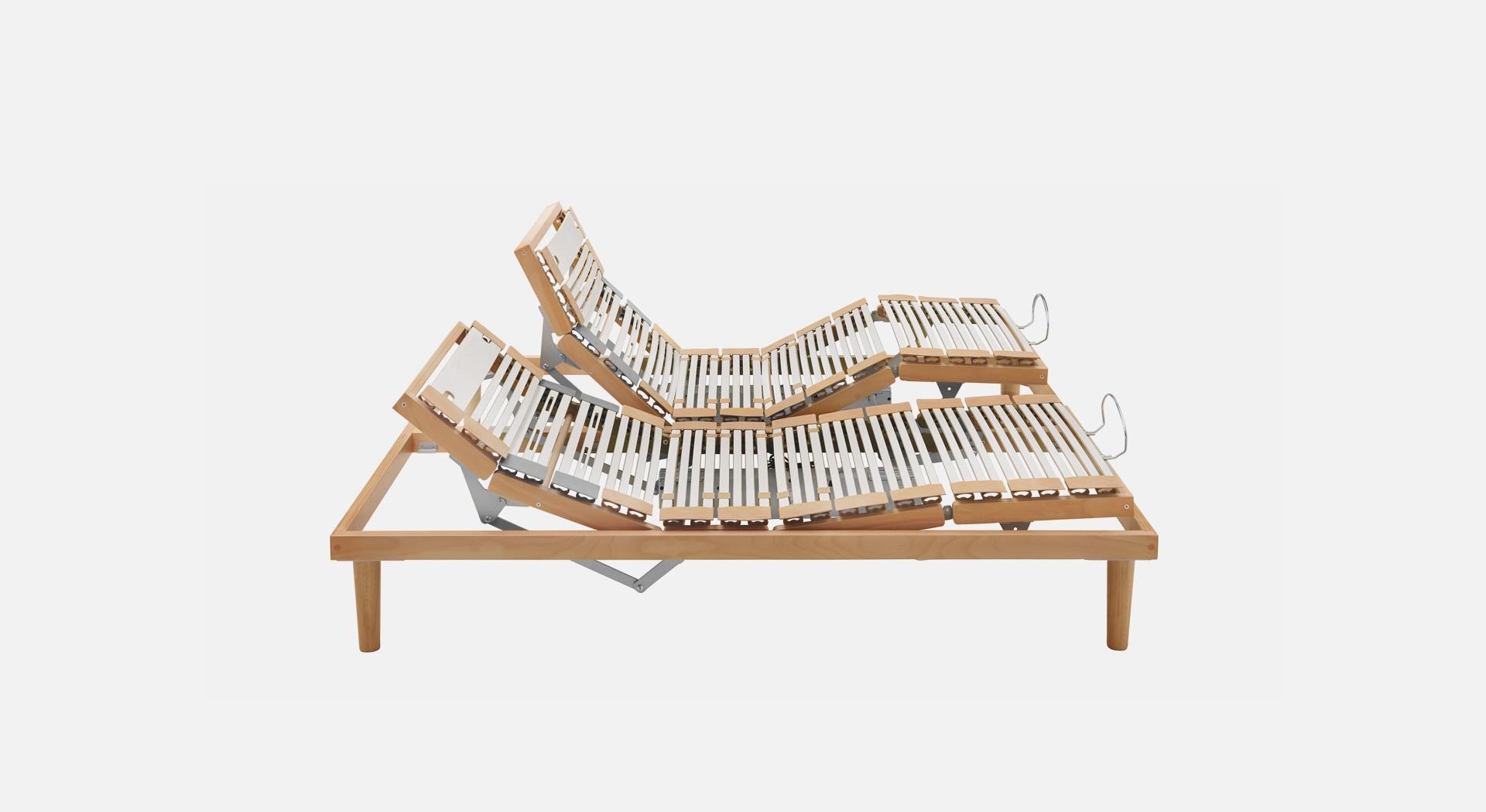 Reti da letto a doghe, reti in legno e acciaio | Dorsal