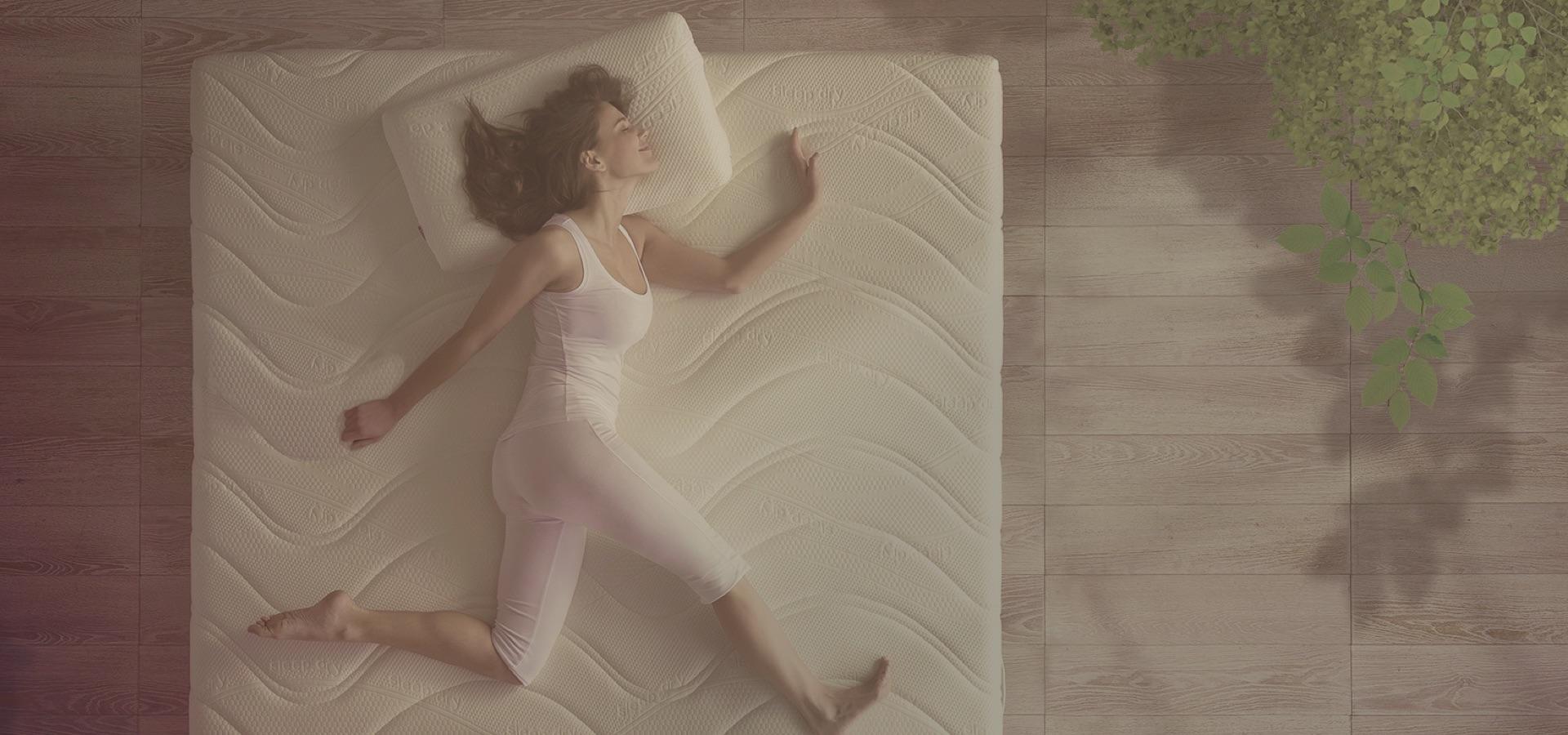 Materassi memory, in lattice naturale, reti da letto, guanciali ...