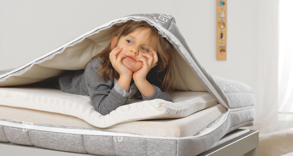 Play il primo materasso pensato per i bambini in crescita dai 4 ai 14 anni dorsal - Postura a letto ...